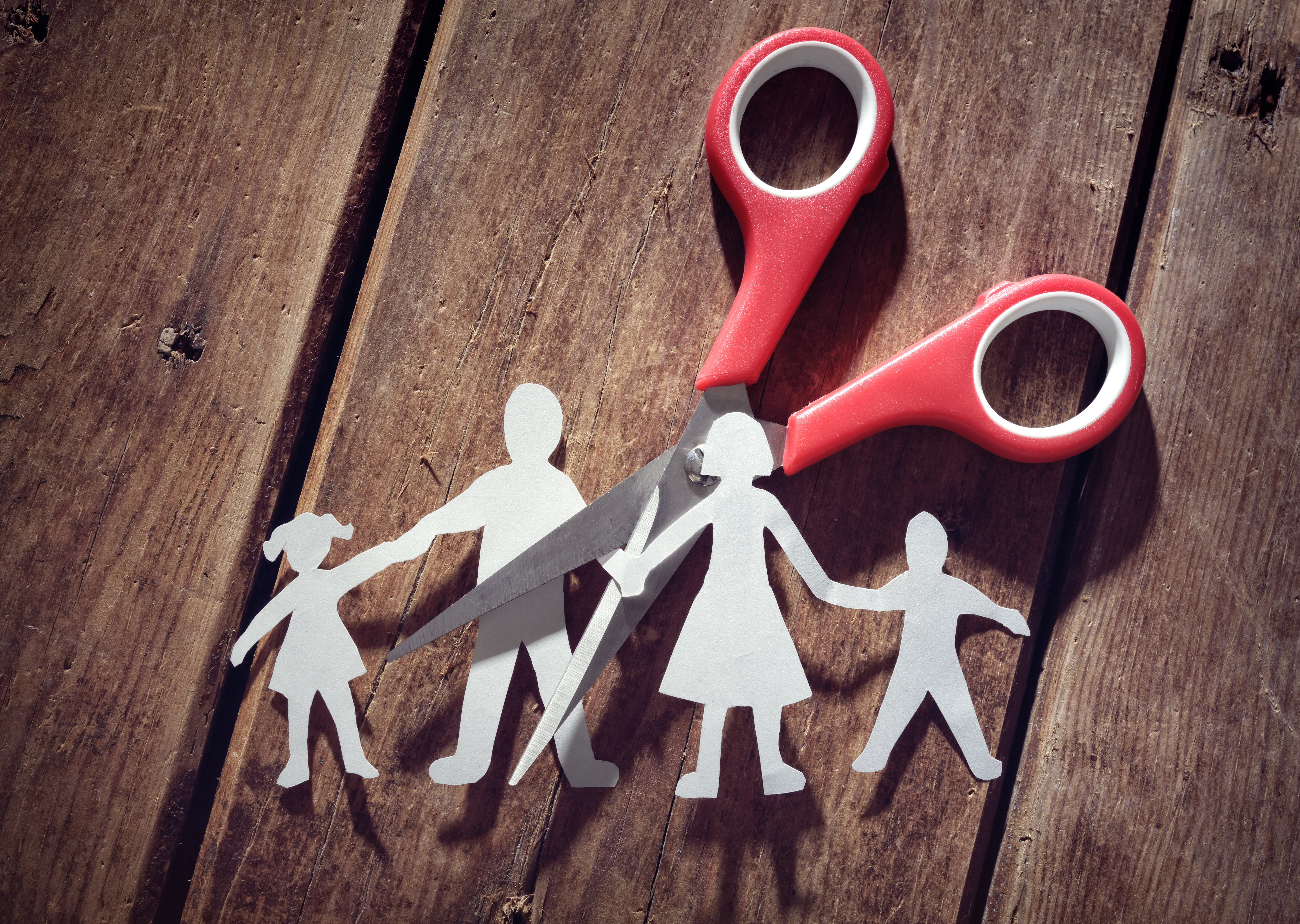 Difference between sole and shared custody of the children